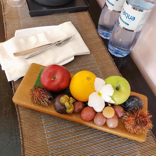 Trái cây được phục vụ miễn phí mỗi ngày