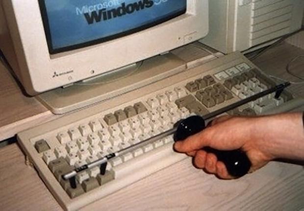Cách nhanh nhất để nhấn ctrl + alt + delete.