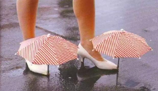 """""""Dân chơi"""" chẳng sợ mưa rơi với những phát minh kiểu như thế này."""