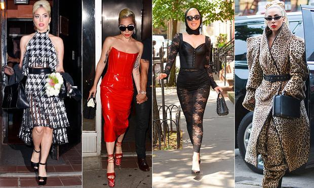 Lady Gaga khiến fan thót tim với màn đi cà kheo tạo dáng trên thành lan can