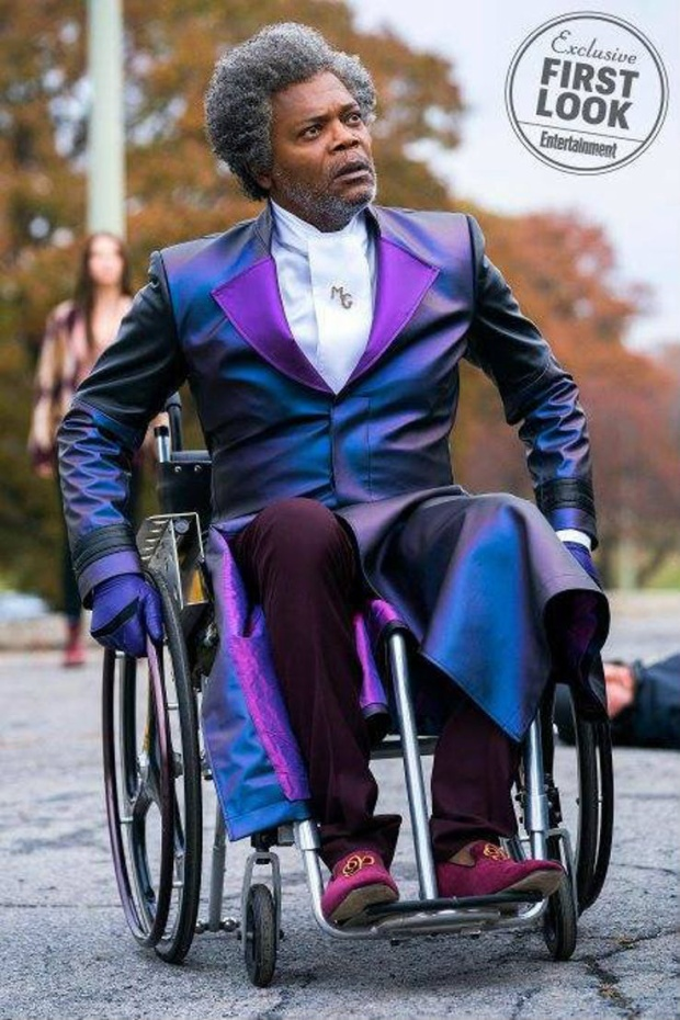 Samuel L Jackson trong vai Mr. Glass