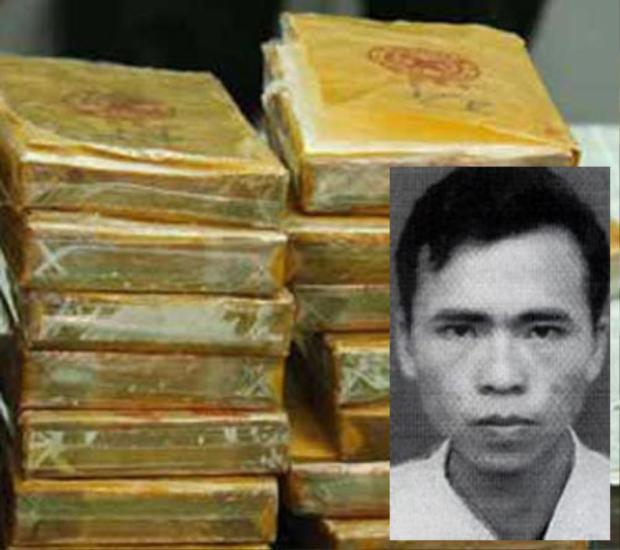 Sồng A Lâu (ảnh nhỏ) và tang vật ma túy. Ảnh: Dân Việt.