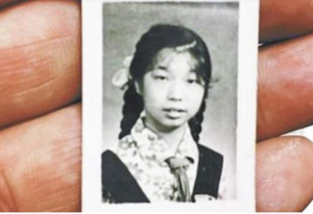 Tấm ảnh chân dung của bà Chiuxiu. Ảnh: kaixiantv