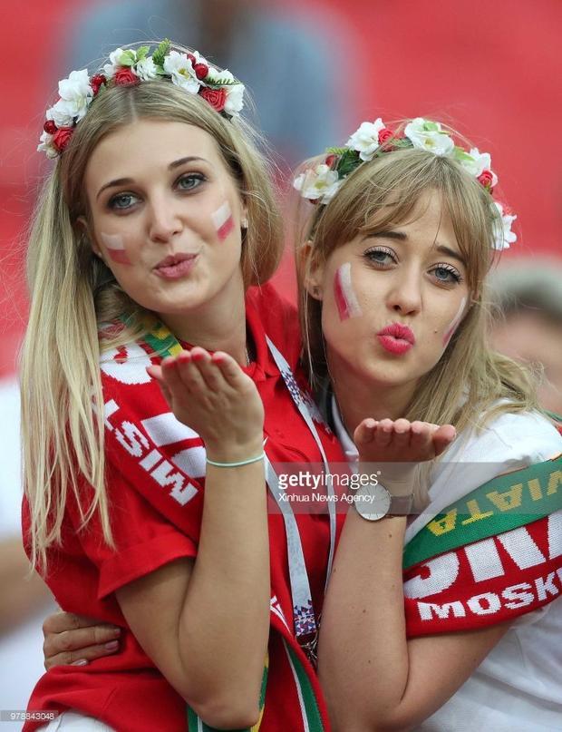 Các bóng hồng xinh đẹp tại World Cup 2018.