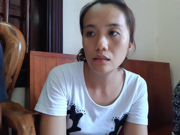 Chị Hiền, vợ anh Sơn.