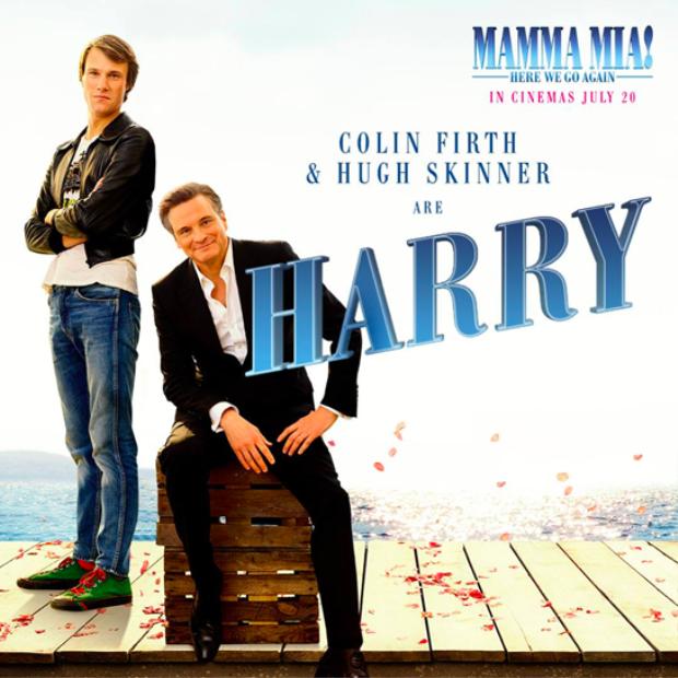 Colin Firth và Hugh Skinner trong vai nhà thám hiểm Harry.