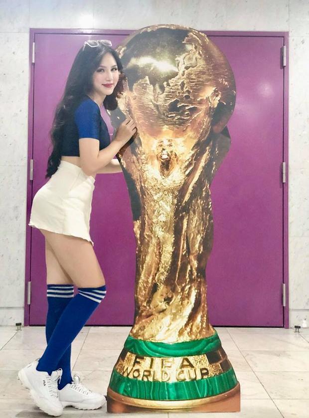 9X Hà thành mong Pháp sẽ thực hiện ước mơ còn dang dở ở Euro 2016. Trong trận chung kết với Croatia, Đặng Ngân hy vọng tất cả chân sút đều thể hiện thật tốt giúp những chú gà trống Gô loa giành chức vô địch.