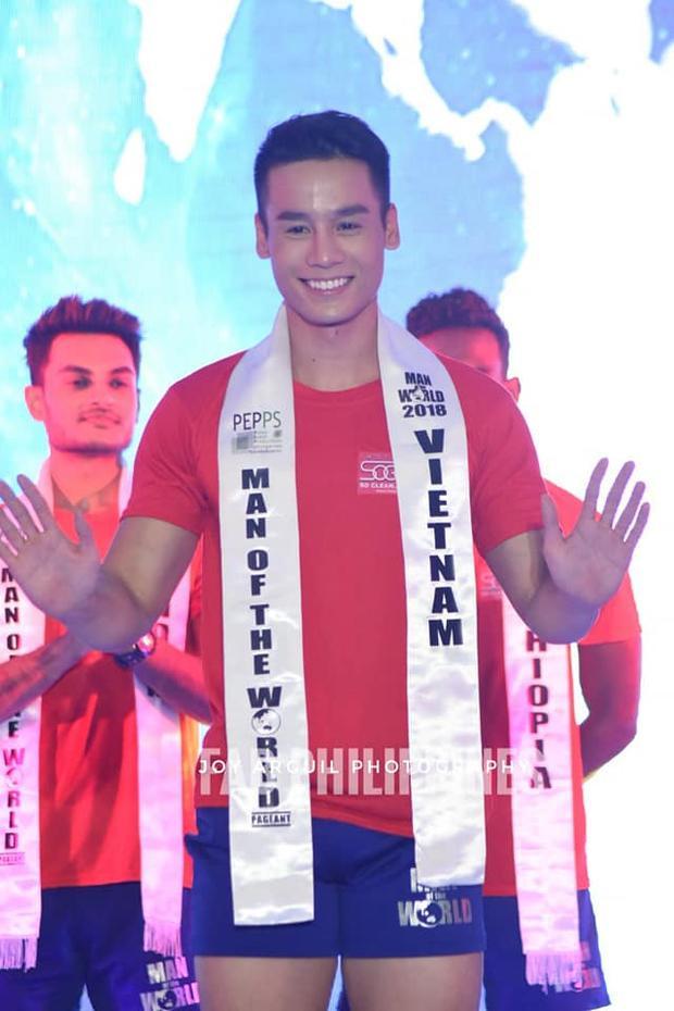 Man of the world là cuộc thi dành cho nam giới lần đầu tiên đượctổ chức tại Philippines với sự tham gia của nhiều thí sinh đến từ các quốc gia trên thế giới. Cuộc thi nhằm tìm kiếm đại diện có vẻ đẹp hình thể nổi bật, có sức ảnh hưởng và quan tâm đến các vấn đề cộng đồng xã hội.