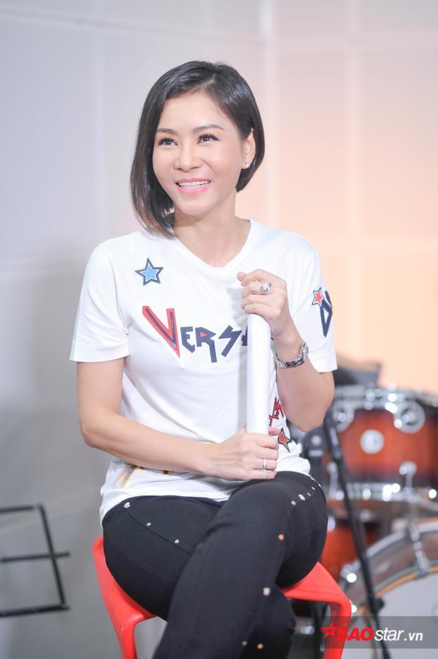 Thu Minh tràn đầy năng lượng trong buổi trò chuyện tại Radio 179.