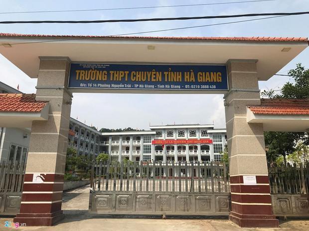 Nhiều thí sinh tại THPT chuyên Hà Giang cũng gặp phải tình trạng điểm thi không phản ánh đúng thực lực.