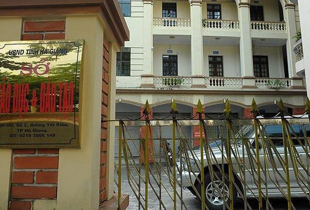 Hình ảnh sở giáo dục và đào tạo tỉnh Hà Giang.