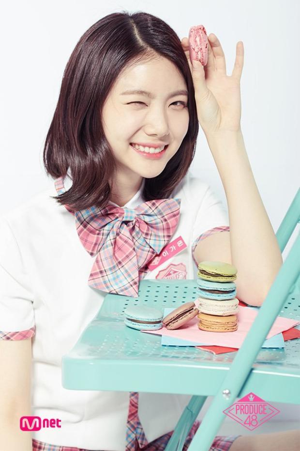 """Hạng 11 - Lee Kaeun, đôi mắt cười chính là """"vũ khí"""" lợi hại nhất của cô nàng với trái tim người hâm mộ."""