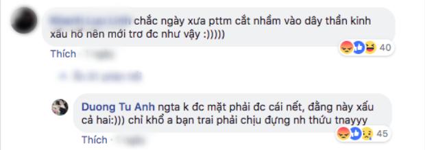 Phải chăng, Tú Anh đang nhắc đến Văn Mai Hương trong đoạn trò chuyện này?