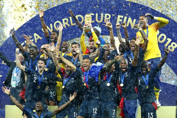 Pháp thể hiện sức mạnh tuyệt đối tại World Cup 2018. Ảnh: FIFA