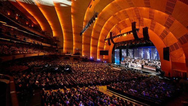 Radio City Music Hall là địa điểm tổ chức lễ trao giải năm nay.