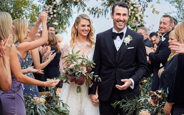 Kate Upton và Justin Verlander đã kết hôn ở Italy vào tháng 11 năm ngoái.