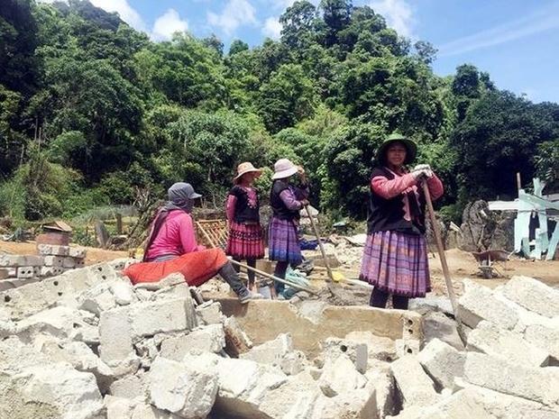 Người dân tại xã Lóng Luông sẽ được hỗ trợ giống cây ăn quả để cải thiện kinh tế. Ảnh: Tiền Phong.