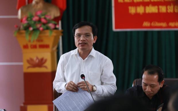 Ông Mai Văn Trinh, Cục trưởng Cục Khảo thí và Quản lý chất lượng giáo dục (Bộ GD&ĐT).