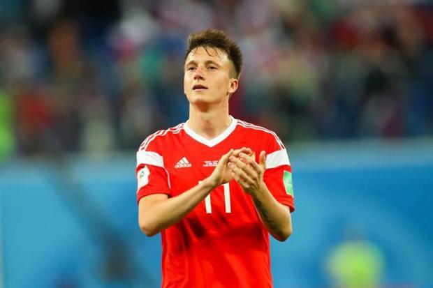 =7. Aleksandr Golovin (Nga, vận tốc tối đa: 33,3 km/h)