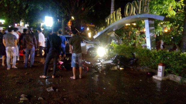 Hiện trường xảy ra vụ tai nạn. Ảnh: CTV