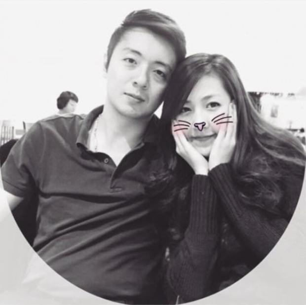 Vào thời điểm còn yêu, Tú Anh thường xuyên chia sẻ hình ảnh hạnh phúc khi có người bạn trai luôn yêu chiều mình