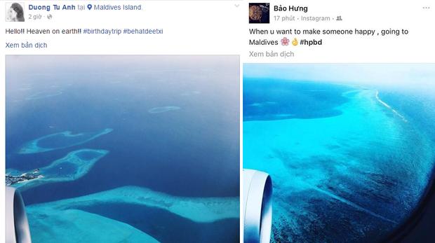 Nhân dịp sinh nhật tuổi 23, Tú Anh đã chia sẻ bức ảnh về chuyến du lịch sang chảnh đến Maldives cùng Bảo Hưng.Trên trang cá nhân của Bảo Hưng, anh cũng check-in ở cùng địa điểm và hashtag chúc mừng sinh nhật.