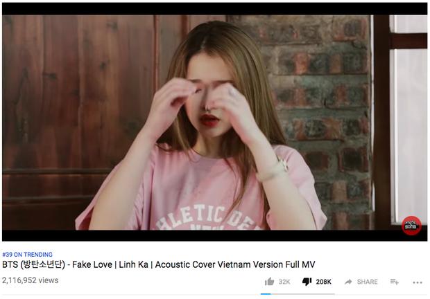 Gần 210.000 dislike Fake Love của Linh Ka đã là gì, nhìn những MV này bạn sẽ hết cả hồn