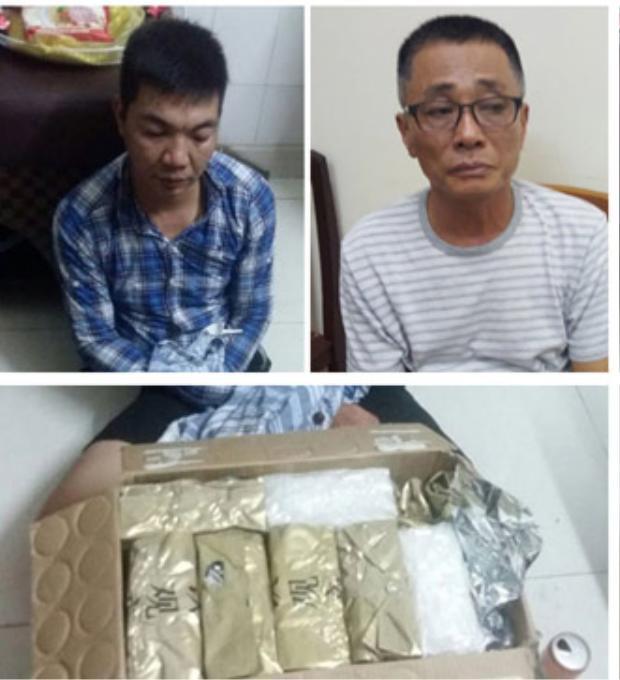 """Đàn em của Oanh """"Hà"""" bị bắt giữ với số lượng ma túy khủng. Ảnh: Dân Việt."""
