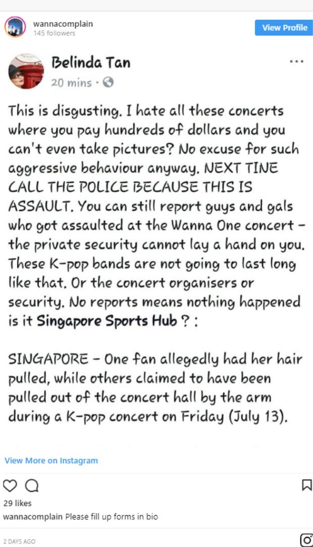 Sau EXO-L, đến lượt fan Wanna One tố bị bảo vệ hành hung, đuổi khỏi concert