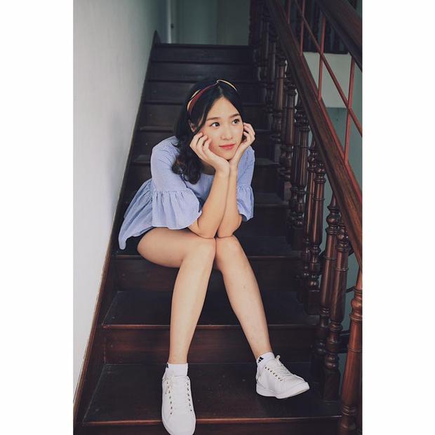 Cô là một trong số những thí sinh ít tuổi nhất Hoa hậu Việt Nam 2018