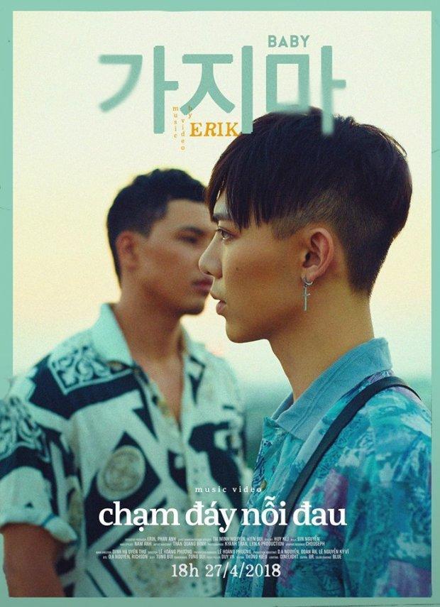 Hình ảnh trong poster MV khiến nhiều fan đang nghĩ về một câu chuyện tình đam mỹ.