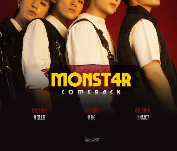 Hình ảnh hé lộ thành viên thứ 4 và 3 sản phẩm sẽ được nhóm lần lượt cho ra mắt.