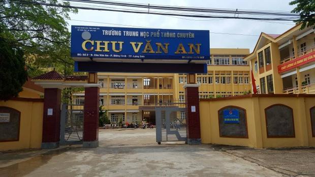 Điểm thi trường THPT Chu Văn An.