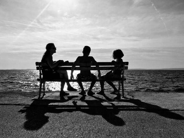 """Giải ba Đời sống - """"Enjoy the Summer"""": Mùa hè năm ngoái cùng gia đình trên bờ biển. Chụp bằng iPhone SE. (Paolo Mestriner)"""