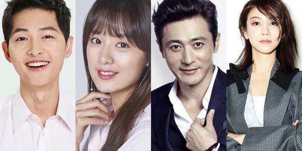Song Joong Ki, Kim Ji Won,Jang Dong Gun và Kim Oh Vin