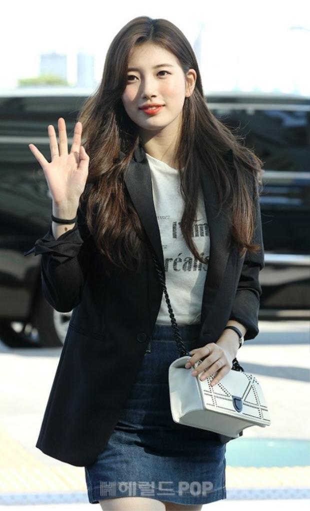 Lần đầu xuất hiện sau khi chia tay Lee Dong Wook, Suzy gây shock vì tăng cân đột ngột