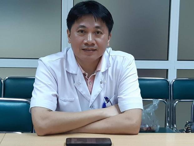 Bác sĩ Lê Việt Khánh thông tin về trường hợp cháu bé bị chó cắn.
