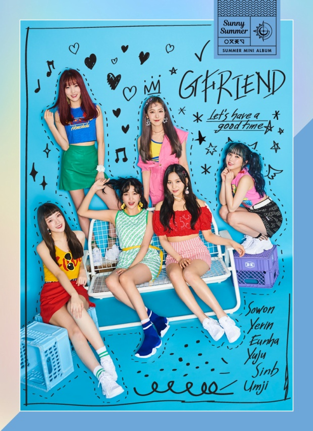 Album mới đã mang đến hình ảnh một GFriend đầy màu sắc thế này!