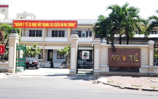 Sở Y tế Cà Mau - nơi có cán bộ chiếm dụng tiền học phí của sinh viên. Ảnh:Phúc Hưng.