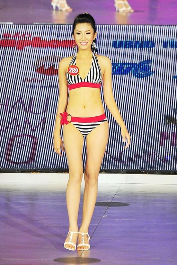 Không dừng lại ở đó, năm 2010, cô tiếp tục ghi danhtạiHoa hậu Việt Nam.Sở hữu gương mặt sáng sân khấucùng kỹ năng trình diễn tốt, cô vào top 20 chung cuộc.