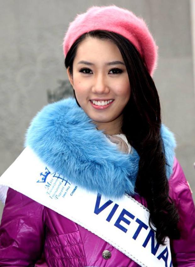 Sau hai cuộc thitrong nước, Thúy Ngân đại diện Việt Nam dự thiNữ hoàng Du lịch Quốc tế 2011 với tư cách là Á khôi Trang sức. Đây là một trong năm cuộc thi nhan sắc lớn nhất trên thế giới theo đánh giá của chuyên trang Global Beauties, thu hút hơn 100 thí sinh từ các nước và vùng lãnh thổ tham gia.