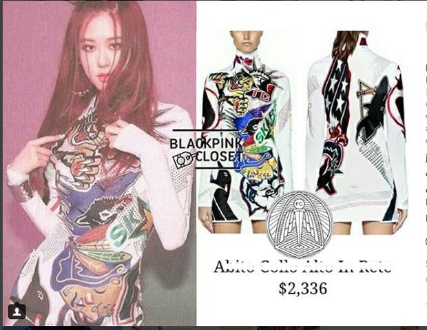 Lại thêm 1 chiếc váy siêu ngắn, siêu nhỏ nhưng giá trên trời 53 triệu VNĐ.