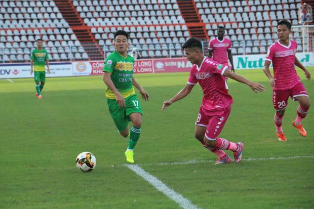 Cần Thơ thua 1-3 trên sân nhà trước CLB Sài Gòn.