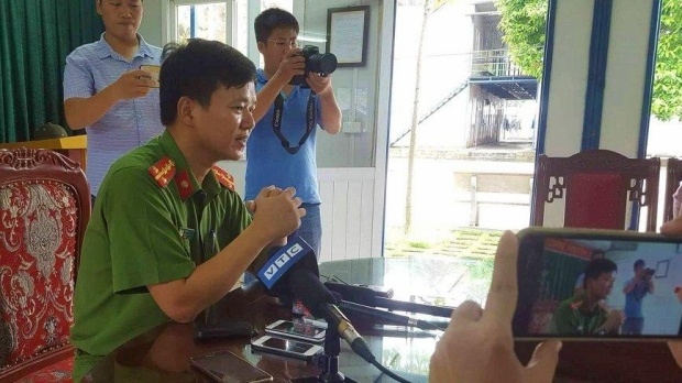 Đại úy Đỗ Đình Viên, Tiểu đoàn trưởng Tiểu đoàn 2 (thuộc Bộ tư lệnh Cảnh sát cơ động - K20. Ảnh: Vietnamnet.