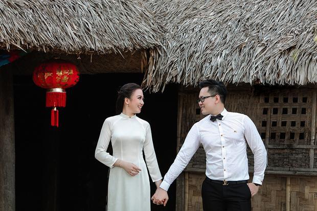 Bộ ảnh cưới của Tú Anh và Đình Đức được thực hiện tại quê nhà Nghệ An.