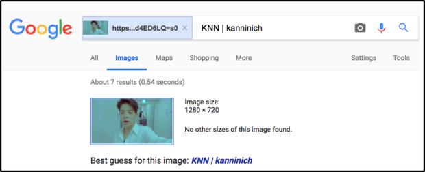 Khi tìm kiếm hình ảnh của Amber thì Google hiện tên của một Youtuber nổi tiếng Thái lan Kanninich.