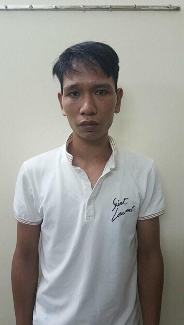 Đối tượng Phong tại Cơ quan điều tra.