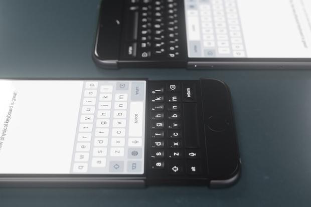 Bản thiết kế iPhone có bàn phím vật lý dạng trượt khá thú vị.