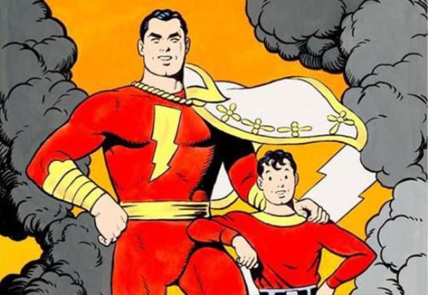 Làm quen với Shazam  siêu anh hùng đầu óc thiếu nhi, tứ chi phát triển của DC