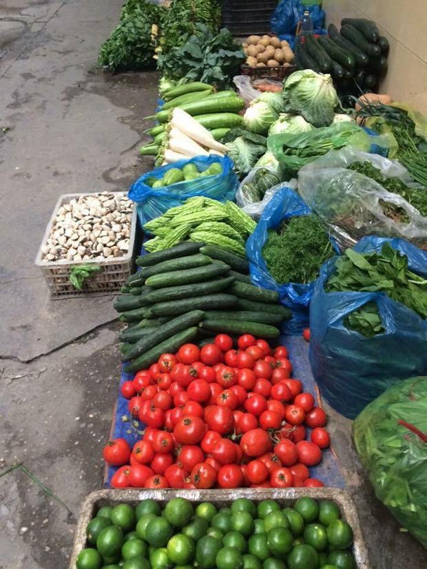 Nhiều người cũng nghĩ nghề bán rau thường có thu nhập thấp và vất vả.